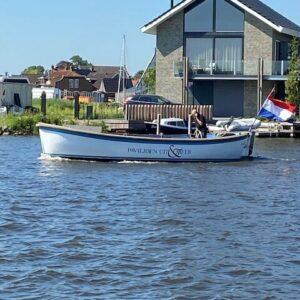 Grou Boot Op Het Water