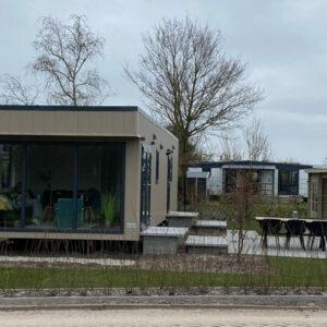 Buitenkant Zijkant FrieslandChalet